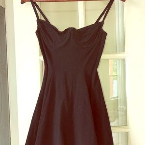 American Apparel underwire cup skater dress